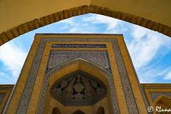 KHIVA (RLuna (Instagram @rluna1982)) Tags: uzbekistan rutadelaseda samarcanda samarkanda viaje asia vacaciones travel canon photo mezquita musulman muslim ramadan khiva jiva tamerlan rluna rluna1982 minarete madrasa mosque turismo arte arco siab bazar afrosiab zoco