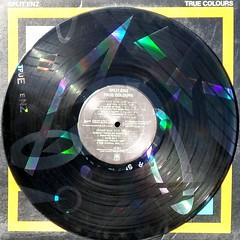 True Colours - Disk (epiclectic) Tags: disk splitenz 1980 laseretched epiclectic vintage vinyl lp record album collection music epiclecticcom