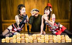 Ken & Donuts 1 (SoulStealer.co.uk) Tags: soulstealer portrait uk england london alternative twinpeaks davidlynch doublerclub damnfine peakies
