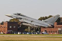 30+65  EF-2000 Typhoon German Air Force WTN Cobra Warrior 2019 17-09-19 (PlanecrazyUK) Tags: lincoln wtn rafwaddington lincs 3065 egxw germanairforce ef2000typhoon 170919 cobrawarrior2019