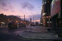 Snowfall in Kemerovo city in autumn (man_from_siberia) Tags: siberia russia сибирь россия 2019 city город urban kemerovo кемерово осень октябрь autumn october canon eos 5d dslr canoneos5d canon5d canon5dclassic fullframe canonef40mmf28stm pancakelens primelens evening snowfall street вечер снегопад
