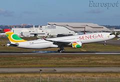 F-WWYN Airbus A330 Neo Air Senegal (@Eurospot) Tags: fwwyn airbus a330 neo a330900 senegal 1923 6vanb toulouse blagnac