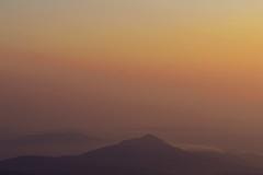 Τhe canvas of nature (born to be an artist) Tags: view beautiful amazing sunrise mountains landscape colors serenity captivating mist morning greece sky sun nature breathtaking beyondbeautiful likeapainting