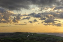 MoorlandRoad (Tony Tooth) Tags: nikon d600 nikkor 105mm moors moorland dusk twilight road thorncliffe staffs staffordshire staffordshiremoorlands england cloud sky clouds