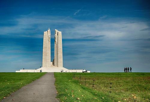 Vimy, le mémorial Canadien