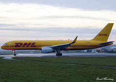 DHL 757-200F G-DHKT (birrlad) Tags: dublin dub international airport ireland aircraft aviation airplane airplanes airline airliner airlines airways takeoff departing departure runway dhl boeing b757 b752 757200f 757223pcf gdhkt quality