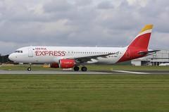 Iberia Express Airbus A320-214 EC-MUK (josh83680) Tags: manchesterairport manchester airport man egcc ecmuk airbus airbusa320214 a320214 airbusa320200 a320200 iberiaexpress iberia express