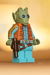 LEGO Greedo (weeLEGOman) Tags: lego greedo bounty hunter star wars minifigure new hope return jedi printed arms toy macro photography uk nikon d7100 105mm robert rob trevissmith weelegoman