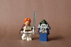 The Clone Wars (th_squirrel) Tags: lego starwars clonewars star wars clone armor obiwan kenobi obi wan wat tambor techno union cis minifig minifigure minifigs minifigures