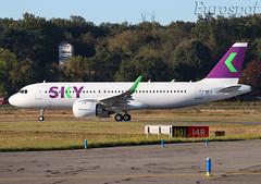 F-WWIE Airbus A320 Neo Sky (@Eurospot) Tags: fwwie ccazo airbus a320 neo 9317 a320251n toulouse blagnac