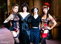 Karen, Sarina, Molly & Louise (SoulStealer.co.uk) Tags: soulstealer portrait uk england london alternative twinpeaks davidlynch doublerclub damnfine peakies