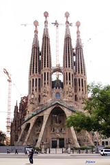 Sagrata Famìlia (fr@nco ... 'ntraficatu friscu! (=indaffarato)) Tags: spagna españa espana catalogna cataluña barcellona barcelona cattedrale sagratafanilia