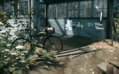 Ash Falls II (Morgana Nagorski) Tags: ashfalls pictureperfect sl secondlife virtualworld morgananagorski bicycle