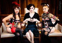 Louise, Karen & Molly (SoulStealer.co.uk) Tags: soulstealer portrait uk england london alternative twinpeaks davidlynch doublerclub damnfine peakies