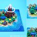 Microscale Koholint Island from Link's Awakening