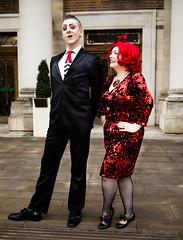 Rose & Ben 1 (SoulStealer.co.uk) Tags: soulstealer portrait uk england london alternative twinpeaks davidlynch doublerclub damnfine peakies