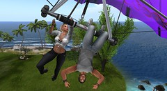 I think we need Hang Glider lessons baby HELPPppppp! (antoniohunter55) Tags: signature gianni hang glider maitreya catwa bento secondlife sl fun nomatch hair palm tree ocean sea beach deltaplane apolon re aqvila bracelet male i will try ssleep some more baby revox explorer watch