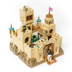 Desert Castle (Galaktek) Tags: galaktek lego architecture castle minifig tan foitsop