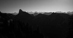 mountain silhouettes (Toni_V) Tags: m2402489 rangefinder digitalrangefinder messsucher leicam leica mp typ240 type240 28mm elmaritm12828asph hiking wanderung randonnée escursione gurnigelerlenbachimsimmental alps alpen backlight gegenlicht silhouette mountains landscape landschaft berneroberland berneseoberland kantonbern bw blackwhite schwarzweiss monochrome sep2 silverefexpro2 niksoftware gantrisch sattelspitz cheibehore switzerland schweiz suisse svizzera svizra europe ©toniv 2019 191026 sefenestock stockhorn