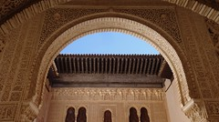Ornate Gold Interior, Palacios Nazaríes, La Alhambra, Granada, Andalusia, Spain (dannymfoster) Tags: spain andalusia andalucia granada alhambra laalhambra palace palacio palaciosnazaries moorisharchway
