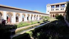 Moorish Arches and Pond, Palacio del Generalife, La Alhambra, Granada, Andalusia, Spain (dannymfoster) Tags: spain andalusia andalucia granada alhambra laalhambra generalife palace palacio palaciodelgeneralife courtyard pond