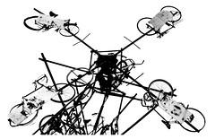 Dutch windmill (leo.roos) Tags: bicycle bike windmolen windmill decay art noiretblanc bw fiets kunst verval a7rii 7artisansdjoptical5011 7artisans5011 leicam darosa leoroos burghhaamstede schouwenduiveland