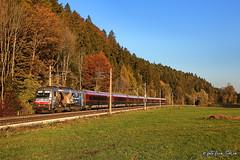 ÖBB 1216 019 + RJ 133 (equo25) Tags: treno eurocity passeggeri locomotiva livrea commemorativa ferrovia railway locomotive train eisenbahn lok ellok zug personenzug