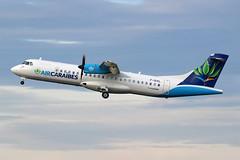 ATR 72-212A (500) Air Caraïbes F-OIXL (Niko Hpx) Tags: atr72212a500 atr72 at72 72212aatr72500 aircaraïbes frenchwest tx caj fwi foixl fwwes msn888 cn888 y70 pwc pw127f pwcpw127f prattwhitneycanada takeoff décollage lfrd dnr dinardpleurtuit dinard pleurtuit avionsdetransportrégional turboprop turboprops turbopropulseur turbopropulseurs aerospatiale