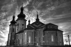 Cathedral of the Transfiguration (Arvo Poolar) Tags: outdoors ontario canada markham arvopoolar nikond500 cathedralofthetransfiguration church sky naturallight blackandwhite