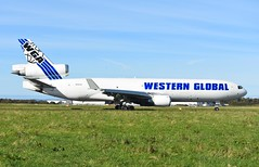 N546JN MD11F Western Global A/L (corrydave) Tags: 48546 md11 md11f westernglobal n546jn shannon