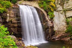 Looking Glass Falls (ChrisF_2011) Tags: autumn falls waterfall pisgahnationalforest nature water northcarolina lookingglassfalls scenic nc