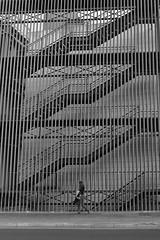 Human in geometry (jantoniojess) Tags: fotografíacallejera fotografíaurbana street streetphotography blancoynegro blackandwhite monocromático monochrome nikond610 escaleras humaningeometry architecture arquitectura sevilla españa seville spain