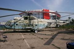 Ex Aeroflot Mil Mi-8 CCCP-11052 (Retro Jets) Tags: mi8 aeroflot khodinka frunze