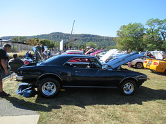 Black 1968 Pontiac Firebird (smaginnis11565) Tags: pontiac pontiacfirebird sportcoupe mark1firebird carshow haverstraw newyork rocklandcounty 2019