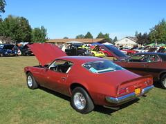 Red 1972 Pontiac Firebird (smaginnis11565) Tags: pontiac pontiacfirebird mark2firebird sportcoupe carshow haverstraw newyork rocklandcounty 2019