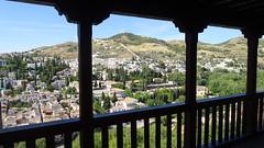 View of Granada From Palacios Nazaríes, La Alhambra, Granada, Andalusia, Spain (dannymfoster) Tags: spain andalusia andalucia granada alhambra laalhambra palace palacio palaciosnazaries view