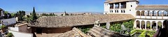 HD Panorama, Tiled Roofs and Archways, Palacio del Generalife, La Alhambra, Granada, Andalusia, Spain (dannymfoster) Tags: spain andalusia andalucia granada alhambra laalhambra generalife palace palacio palaciodelgeneralife