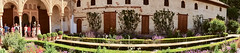 HD Panorama, Courtyard, Palacio del Generalife, La Alhambra, Granada, Andalusia, Spain (dannymfoster) Tags: spain andalusia andalucia granada alhambra laalhambra generalife palace palacio palaciodelgeneralife courtyard pond