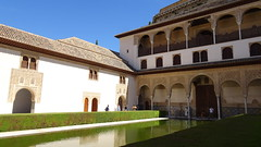 Patio de los Arrayanes (Court of the Myrtles), Palacios Nazaríes, La Alhambra, Granada, Andalusia, Spain (dannymfoster) Tags: spain andalusia andalucia granada alhambra laalhambra palace palacio palaciosnazaries patio patiodelosarrayanes courtofthemyrtles pond