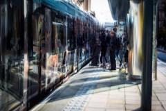 Trams (1 of 1)-2 (ianmiddleton1) Tags: edinburgh icm movement composite trams transport people