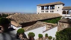 Tiled Rooftops, Palacio del Generalife, La Alhambra, Granada, Andalusia, Spain (dannymfoster) Tags: spain andalusia andalucia granada alhambra laalhambra generalife palace palacio palaciodelgeneralife