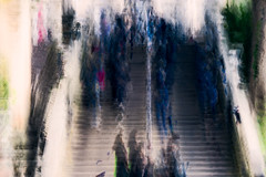 The Stairs (1 of 1) (ianmiddleton1) Tags: edinburgh icm movement composite trams transport people