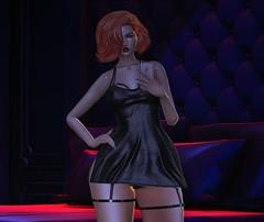 ♚ #797 ♚ (Caity Saint) Tags: vision ebento letituier redhead ak akeruka maitreya lingerie dress backdrop selfie pixels avatar doll av
