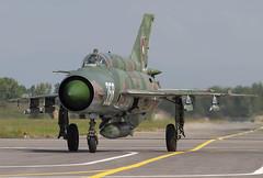 MIG-21BIS 358 CLOFTING CRW_4049+FL (Chris Lofting) Tags: mig21 mig21bis 358 fishbed graf ignatievo bulgarian air force