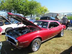 Red 1969 Pontiac Firebird (smaginnis11565) Tags: pontiac pontiacfirebird mark1firebird sportcoupe carshow haverstraw newyork rocklandcounty 2019