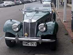 MG  TF c1953 - front (nickant44) Tags: mg tf vintage car classic strathalbyn australia nokia