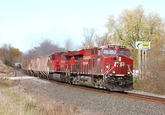 Fish story (MN transfer) Tags: canadianpacific railway cp cprail riversub minnesota railroad freight train october26th2019 fall autumn