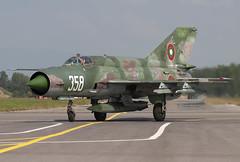 MIG-21BIS 358 CLOFTING CRW_4048+FL (Chris Lofting) Tags: mig21 mig21bis 358 fishbed graf ignatievo bulgarian air force