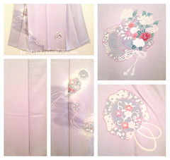 Soft Taiko (Kurokami) Tags: lindsay ontario canada kimono japan japanese asia asian woman women girl girls lady ladies traditional kitsuke houmongi tsukesage soft taiko drum flower flowers floral chord purple white vintage silk