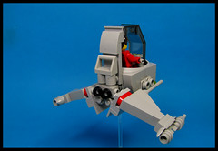 Aeromobile (Karf Oohlu) Tags: lego moc minifig vehicle flying flyer scifi skyfi